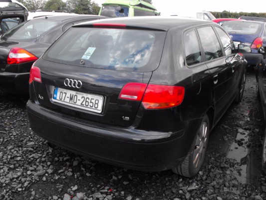Car Parts For 2007 Audi A3 Sportback 1 6 Att 5dr 1 6l