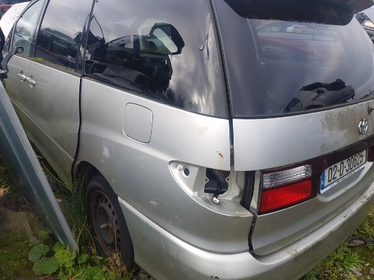 parts available for a silver 5 door 2 4l 2002 toyota previa gx kilbrook  enfield county meath ireland