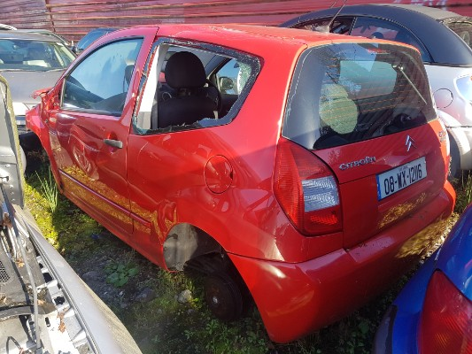 Parts available for a Red 1 4L 2008 CITROEN C2 1 4 Cachet
