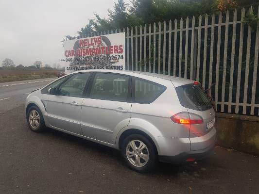 Parts available for a Silver 5 door 1 8L 2008 FORD S-MAX