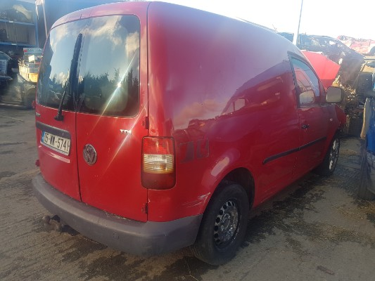 Parts available for a Red 5 door 1 9L 2005 VOLKSWAGEN CADDY 1 9 TDI