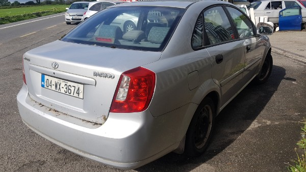 Parts available for a Silver 4 door 1 4L 2004 DAEWOO NUBIRA