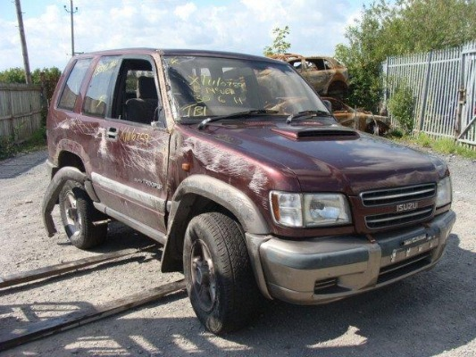 Car parts for 2000 ISUZU TROOPER SWB DT Duty 3 0L Diesel
