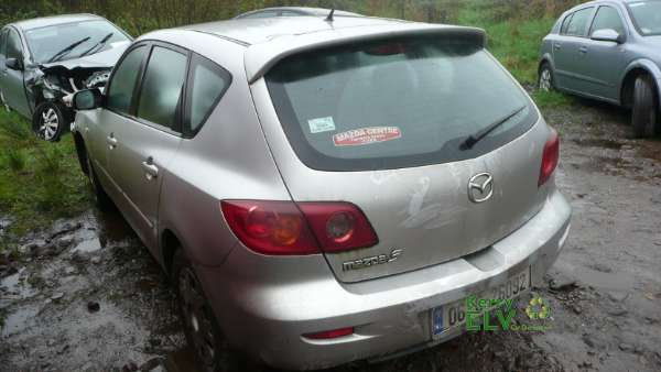 Parts available for a Silver 5 door 1 4L 2006 MAZDA MAZDA3