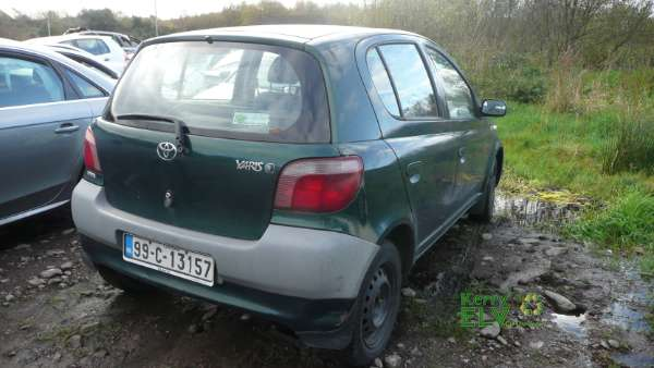 parts available for a green 5 door 0 9l 1999 toyota yaris. Black Bedroom Furniture Sets. Home Design Ideas