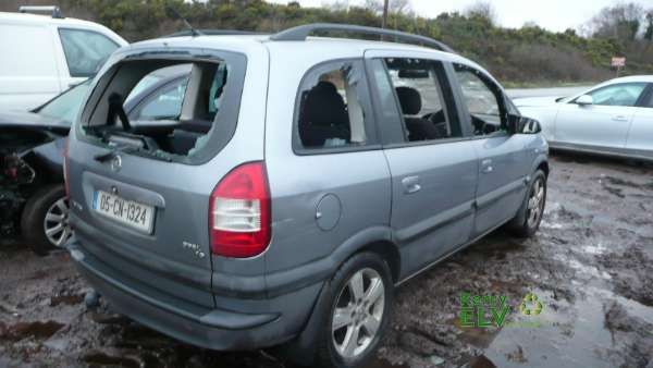 Parts available for a Silver 5 door 1 6L 2005 OPEL ZAFIRA Njoy Z1