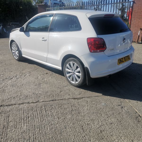 VOLKSWAGEN POLO Damaged Repairable Crashed Car For Sale