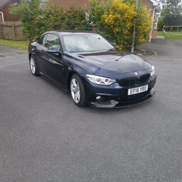 BMW 4 SERIES Damaged Repairable Crashed Car For Sale