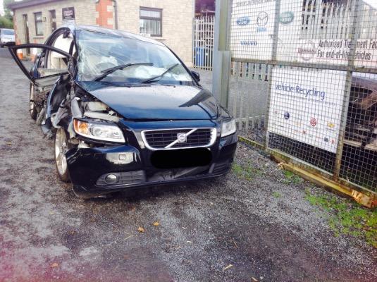 Black 4 door 1 6L 2010 VOLVO S40 1 6D SE (MY09) 4DR Ballybay