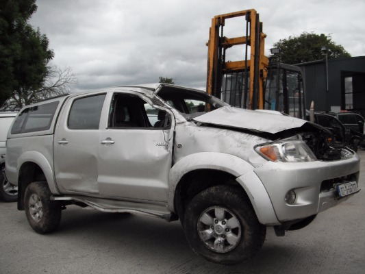 car parts for 2007 toyota hilux rc d4d sr5 dc 4dr 2 5l
