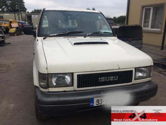 Car parts for 1993 ISUZU TROOPER SWB TURBO D 3 1L Diesel