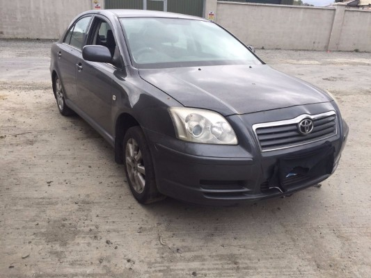 grey 0 door 2 0l 2006 toyota avensis d4d 2 0 t2 05dr parts grangebellew drogheda county louth. Black Bedroom Furniture Sets. Home Design Ideas