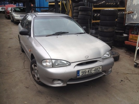 Car Parts For 1999 HYUNDAI ACCENT 13 14L Petrol