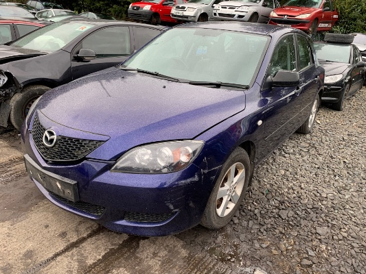 Blue 5 door 1 6L 2007 MAZDA MAZDA3 1 6i S 5dr Parts Annadorn