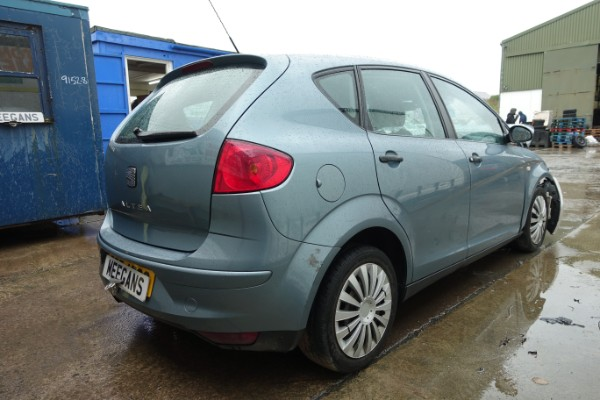 Blue 5 Door 19l 2005 Seat Altea Reference Tdi Spare Parts Dundalk