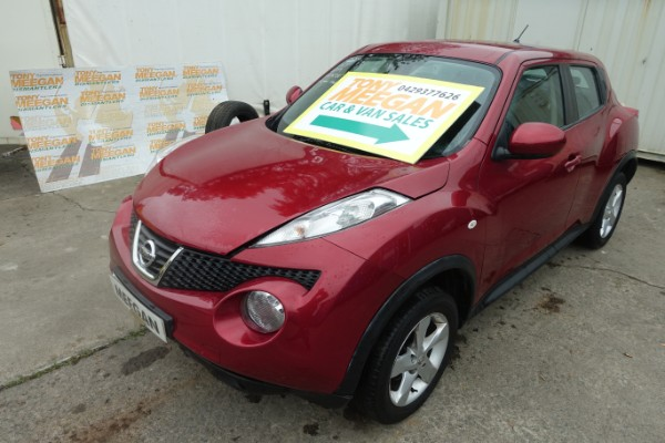 red 5 door 1 6l 2014 nissan juke visia spare parts dundalk county louth ireland. Black Bedroom Furniture Sets. Home Design Ideas