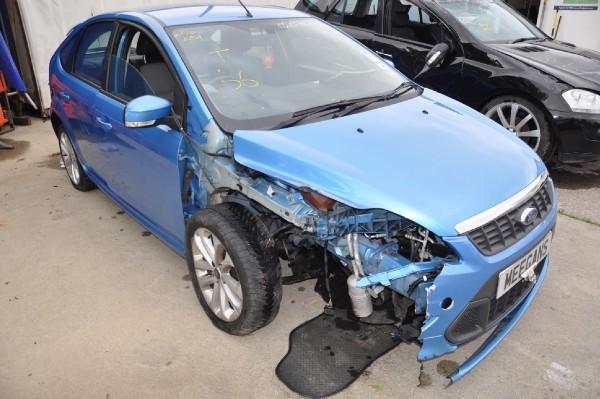 blue 5 door 1 6l 2010 ford focus zetec s s s spare parts. Black Bedroom Furniture Sets. Home Design Ideas