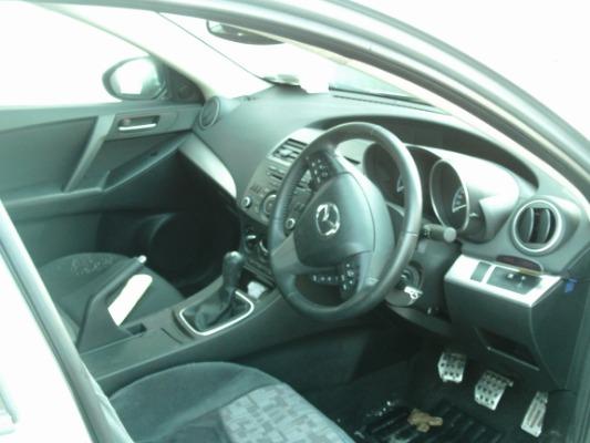 Grey 4 door 1 6L 2012 MAZDA MAZDA3 1 6D Executive 115PS 4DR