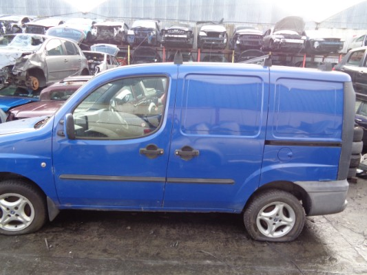 blue 5 door 1 9l 2002 fiat doblo cargo d sx a parts tullamore county offaly ireland. Black Bedroom Furniture Sets. Home Design Ideas