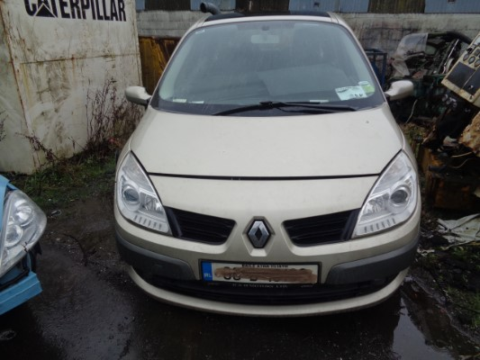 gold 5 door 1 6l 2008 renault scenic grand scenic ii 1 6 16v royale sw parts tullamore county. Black Bedroom Furniture Sets. Home Design Ideas