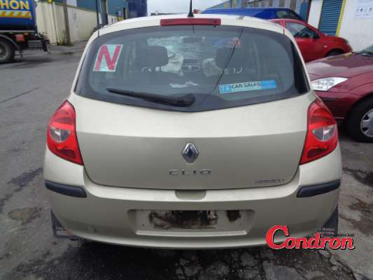 yellow 5 door 1 2l 2008 renault clio iii 1 2 16v dynamique parts tullamore county offaly ireland. Black Bedroom Furniture Sets. Home Design Ideas
