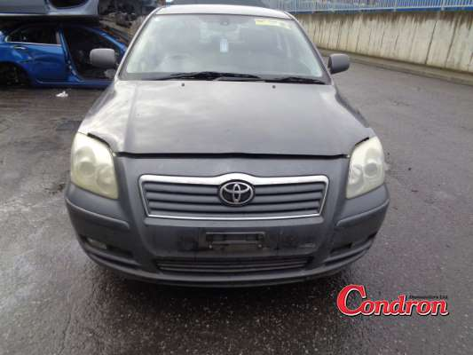 grey 4 door 2 3l 2006 toyota avensis 2 2 d4d luna 4d parts tullamore county offaly ireland. Black Bedroom Furniture Sets. Home Design Ideas