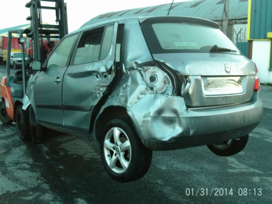 car parts for 2012 skoda fabia ambition 1.2tsi 86hp 4dr 1.2l petrol