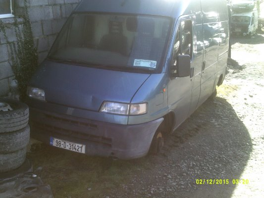 car parts for 1998 fiat ducato maxi 2 5l diesel