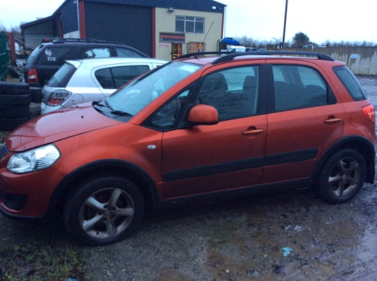 Parts available for a 5 door 1 5L 2008 SUZUKI SX4 1 5 GLX