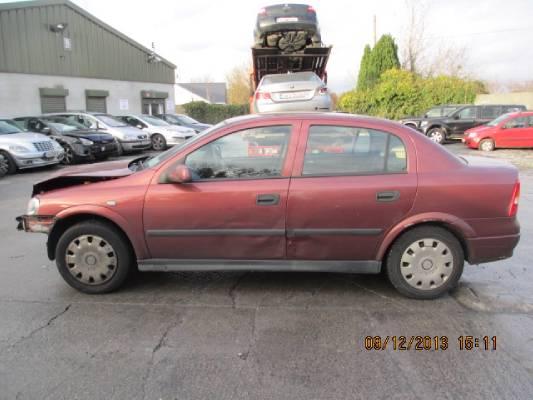 Red 4 door 1 4L 2002 OPEL ASTRA GLX Z 1 4 XE Parts Ashville