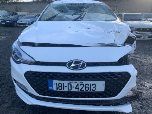 White 5 door 1 4L 2018 HYUNDAI I20 Active Deluxe 5DR Auto